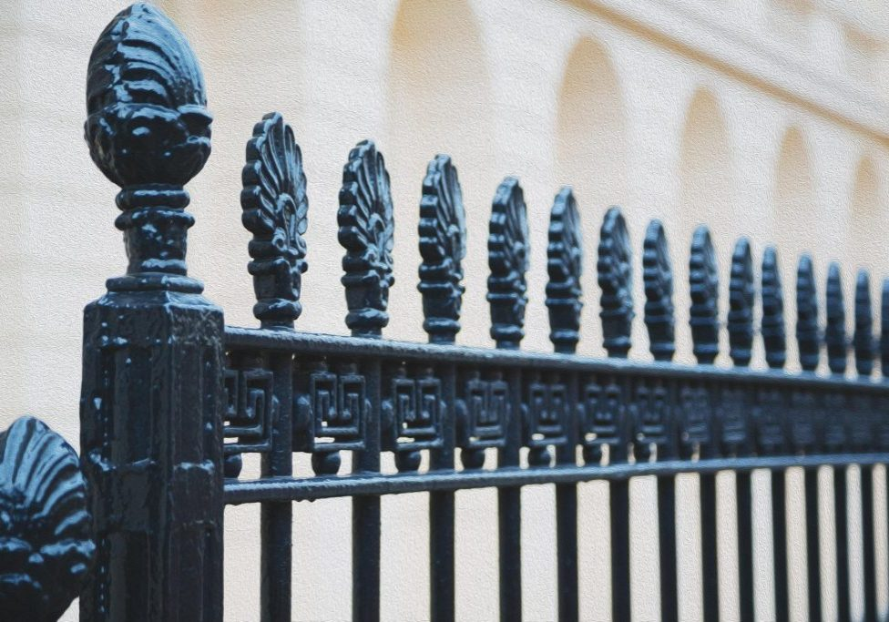 metal fences with style